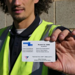 Asbestos Removal Training Course Card Qualification