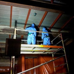 Friable Asbestos Removal - During